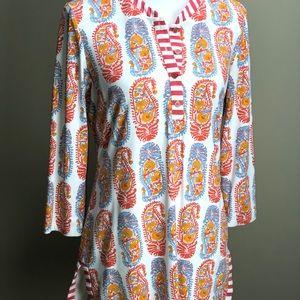 Medium J. McLaughlin boho tunic top